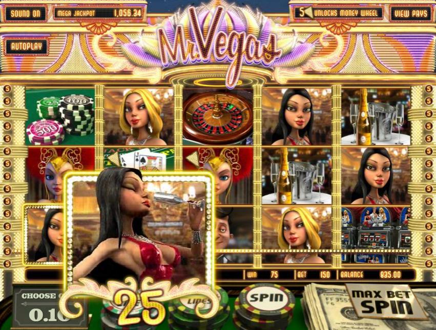 Приветственный бонус Mr Vegas