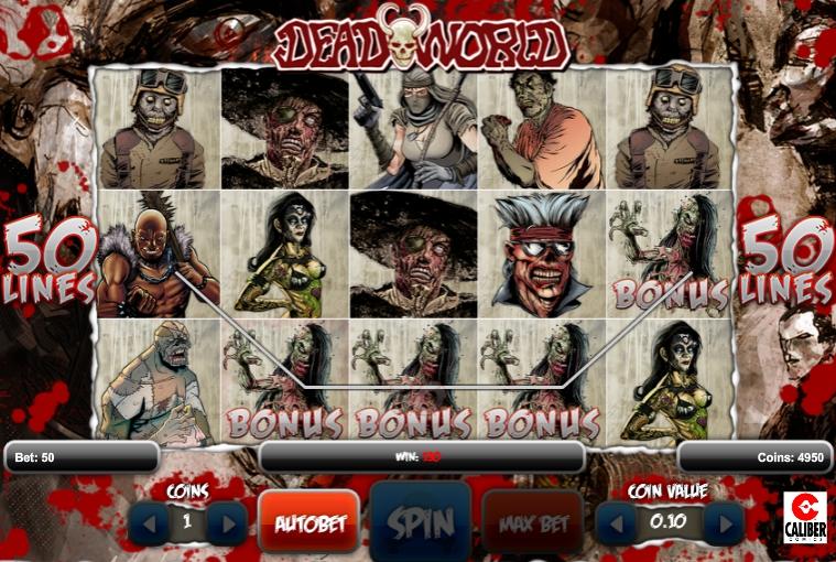 игровой автомат deadworld