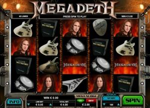 игровой атвомат Mega Deth